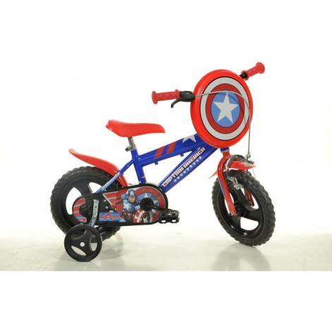 """Imagine 1Bicicleta Captain America 12"""""""