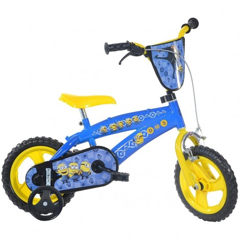 Imagine 1Bicicleta Minions 12""
