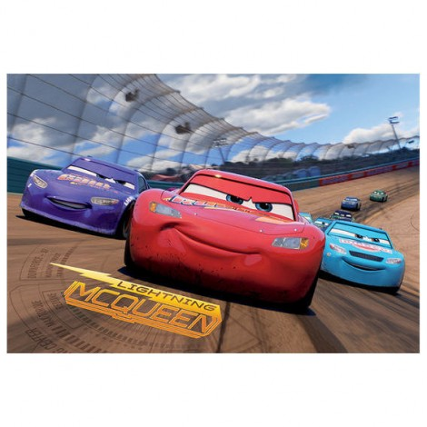 Imagine 3Puzzle 2 in 1 - Cars 3 (66 piese)