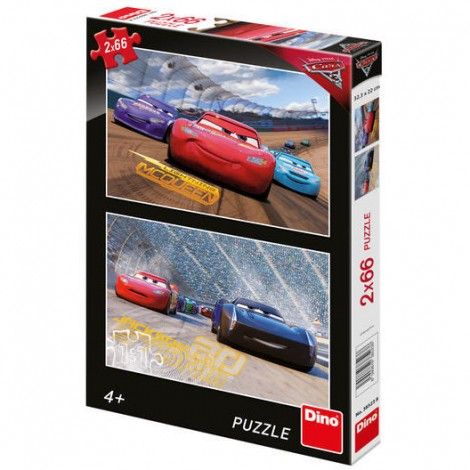 Imagine 1Puzzle 2 in 1 - Cars 3 (66 piese)