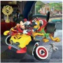 Imagine 4Puzzle 3 in 1 - Cursa lui Mickey Mouse (3 x 55 piese)