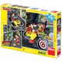 Imagine 1Puzzle 3 in 1 - Cursa lui Mickey Mouse (3 x 55 piese)