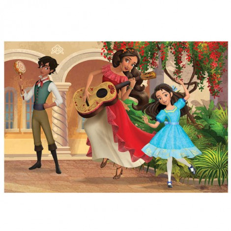 Imagine 2Puzzle 2 in 1 - Elena din Avalor (66 piese)