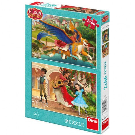 Imagine 1Puzzle 2 in 1 - Elena din Avalor (66 piese)