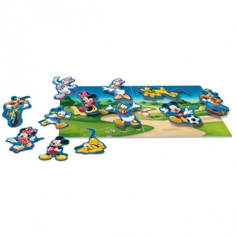 Imagine 2Puzzle magnetic - Mickey si prietenii