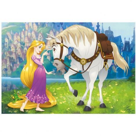 Imagine 2Puzzle - Rapunzel si calutul Maximus