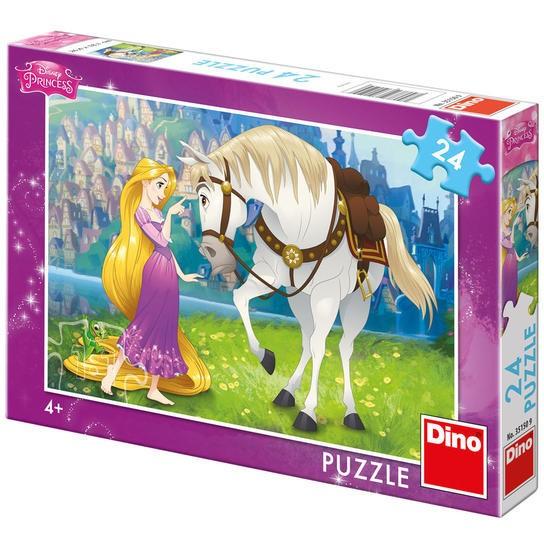 Puzzle - Rapunzel si calutul Maximus