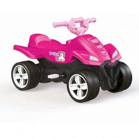 Imagine 1ATV cu pedale roz - Unicorn