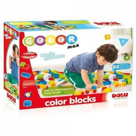 Imagine 1Cuburi colorate de construit - 85 piese