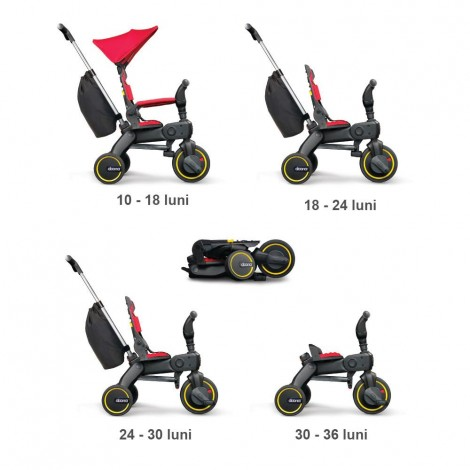 Imagine 8Tricicleta Liki Trike S5 Flame Red