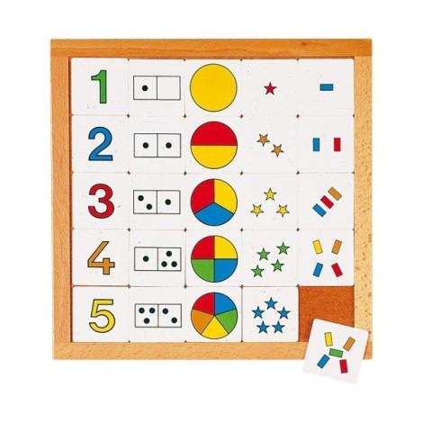 Imagine 1Joc educativ pentru gradinita Diagrama de la 1 la 5