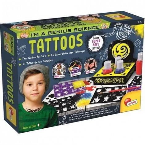Imagine 1Experimentele micului geniu - Fabrica de tatuaje