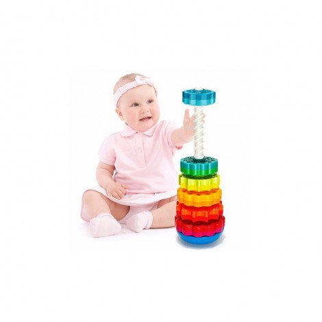 Imagine 2Piramida cu rotite pentru bebelusi