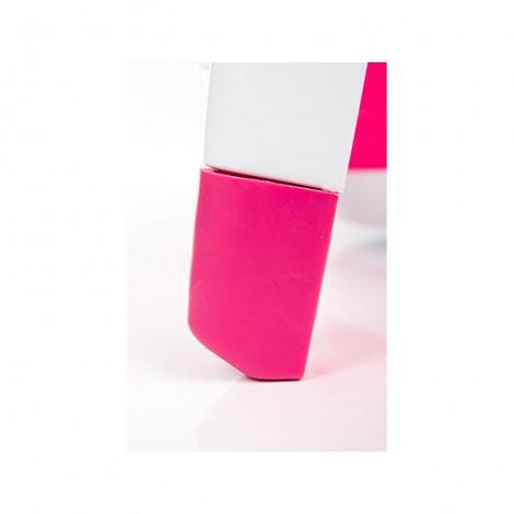 Imagine 3Cadita pliabila cu termometru Dori pink
