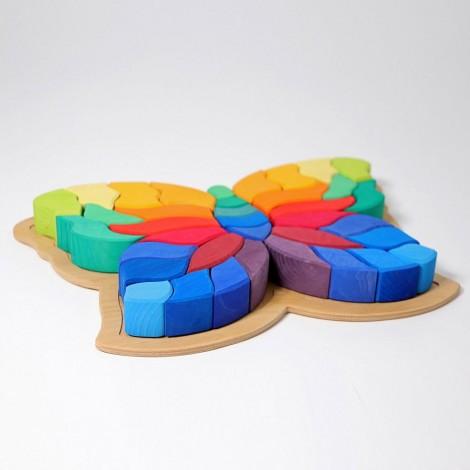 Imagine 3FLUTURELE CURCUBEU - PUZZLE CREATIV
