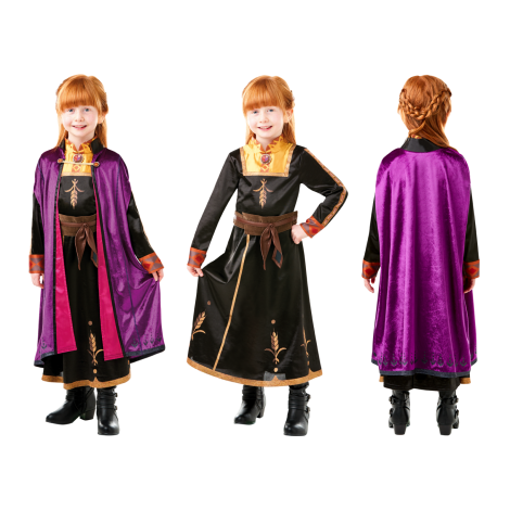 Imagine 1FROZEN 2 COSTUM ANNA DE CALATORIE DELUXE