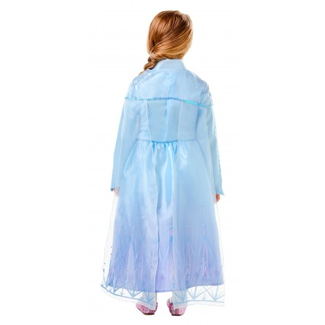 Imagine 3FROZEN 2 COSTUM ELSA DE CALATORIE DELUXE