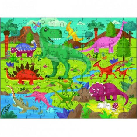 Imagine 2Puzzle Taramul Dinozaurilor 100 piese