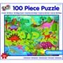Imagine 1Puzzle Taramul Dinozaurilor 100 piese