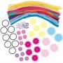 Imagine 2Set creatie - Bentite cu floricele
