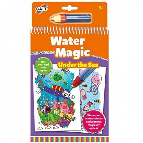 Imagine 1Water Magic: Carte de colorat Lumea acvatica