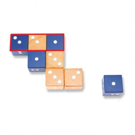 Imagine 3Joc magnetic din lemn Figuri geometrice 24 piese