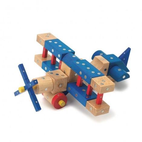 Imagine 1Joc magnetic din lemn Mijloace de transport 110 piese