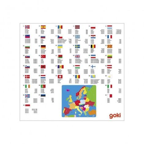 Imagine 2Puzzle din lemn Harta Europei