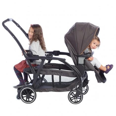 Imagine 10Carucior gemeni Modes Duo Black Grey