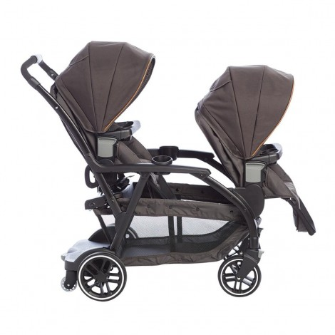 Imagine 2Carucior gemeni Modes Duo Black Grey