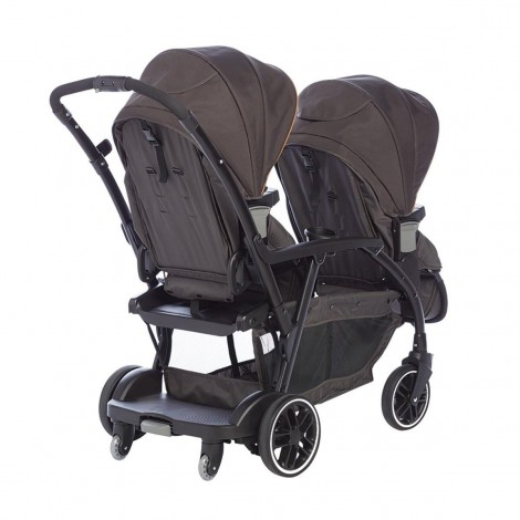 Imagine 3Carucior gemeni Modes Duo Black Grey