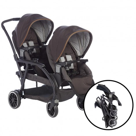 Imagine 4Carucior gemeni Modes Duo Black Grey