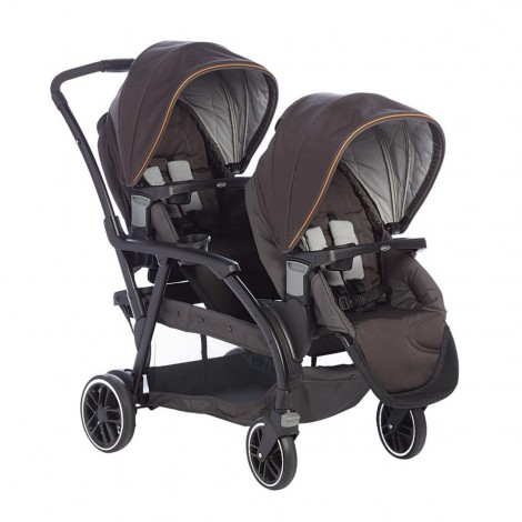 Imagine 1Carucior gemeni Modes Duo Black Grey