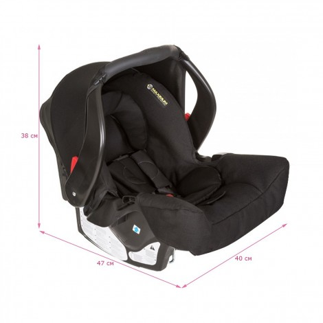 Imagine 2Scaun auto Junior Baby - Snugfix Extrem Black