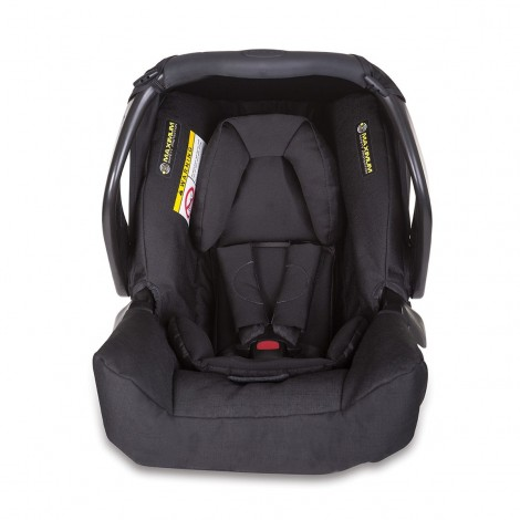 Imagine 3Scaun auto Junior Baby - Snugfix Extrem Black