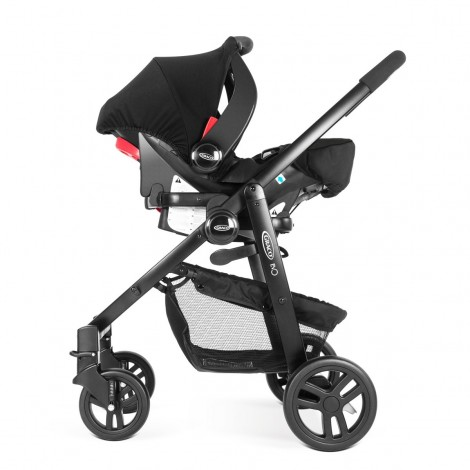 Imagine 4Scaun auto Junior Baby - Snugfix Extrem Black
