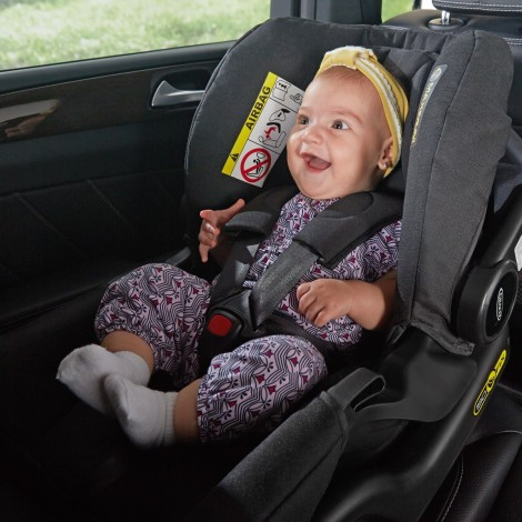 Imagine 5Scaun auto Junior Baby - Snugfix Extrem Black