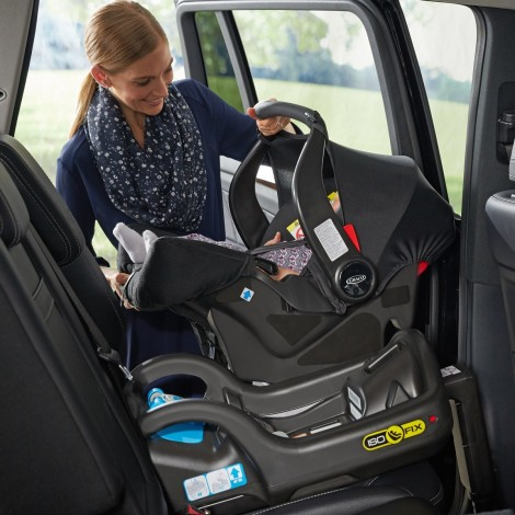 Imagine 6Scaun auto Junior Baby - Snugfix Extrem Black