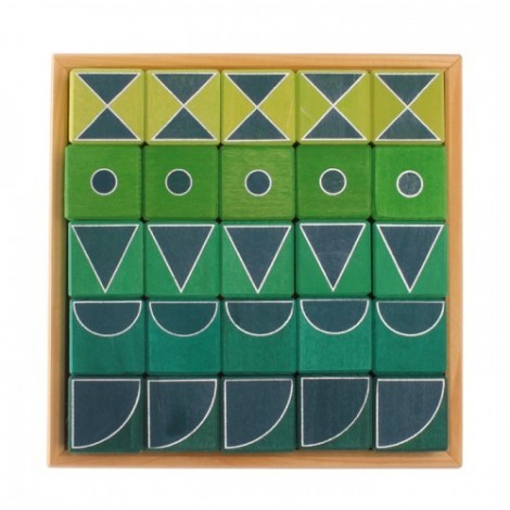 Imagine 2Arta si geometrie, verde