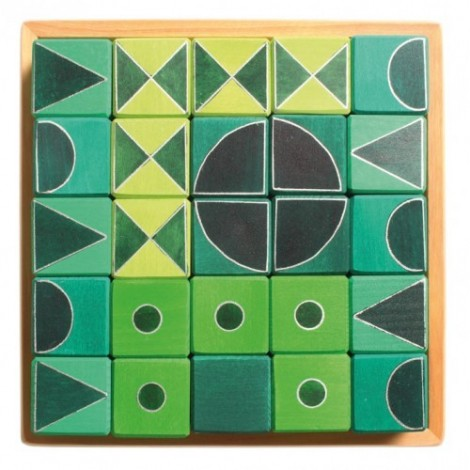 Imagine 3Arta si geometrie, verde
