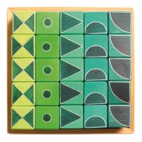 Imagine 1Arta si geometrie, verde