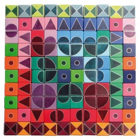 Imagine 4Arta si geometrie, verde