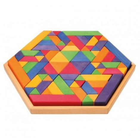 Imagine 2Set de construit Trapezoid