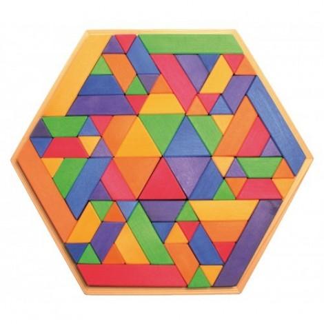 Imagine 1Set de construit Trapezoid