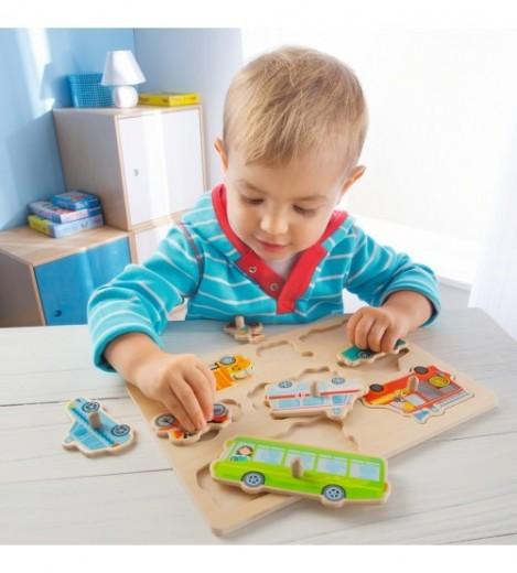 Imagine 2Joc tip puzzle - Lumea Vehiculelor