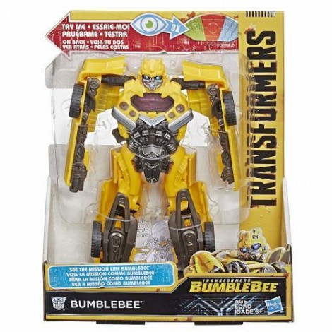 Imagine 4Figurina de Actiune Transformers Bumblebee Mission Vision