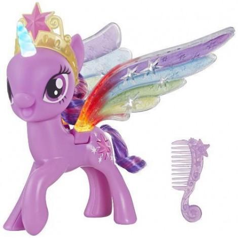Imagine 1Figurina My Little Pony cu Aripi Stralucitoare Twilight Sparkle
