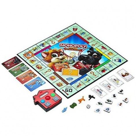 Imagine 2Joc de Societate Monopoly Junior Banca Electronica