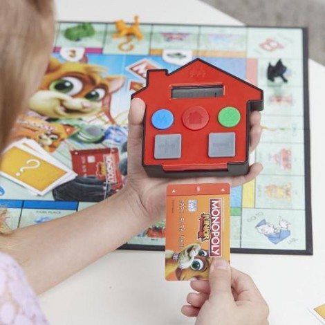 Imagine 3Joc de Societate Monopoly Junior Banca Electronica