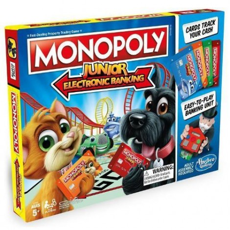Imagine 1Joc de Societate Monopoly Junior Banca Electronica